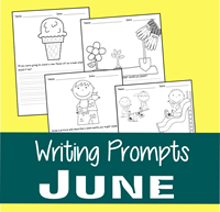June Writing Prompts