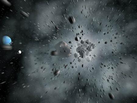 Asteróide meteoro e cometa