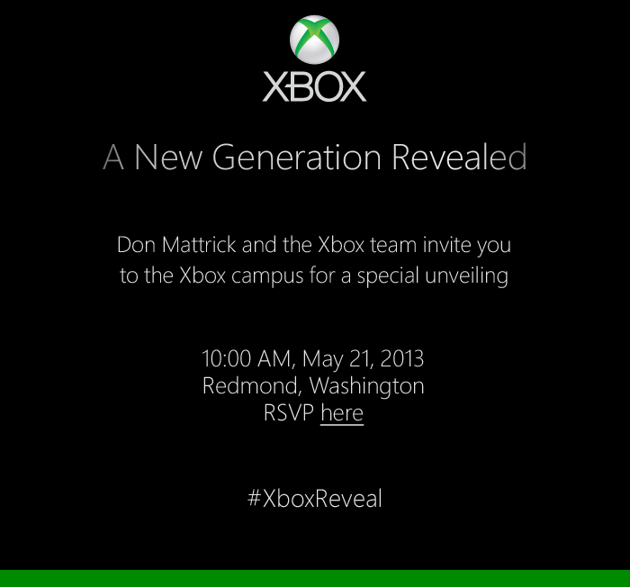 microsoft xbox 720 may 21 launch rumors