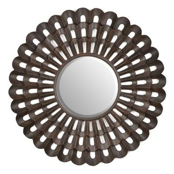 bronze fan mirror
