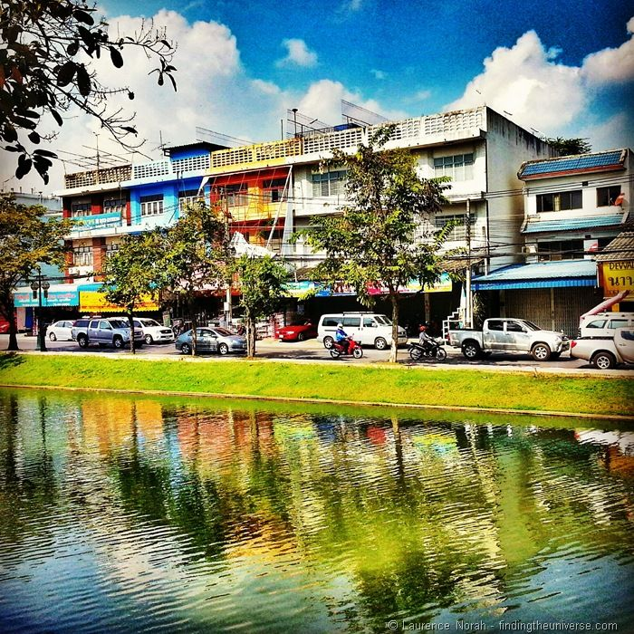 Reflections in Chiang Mai Thaiand