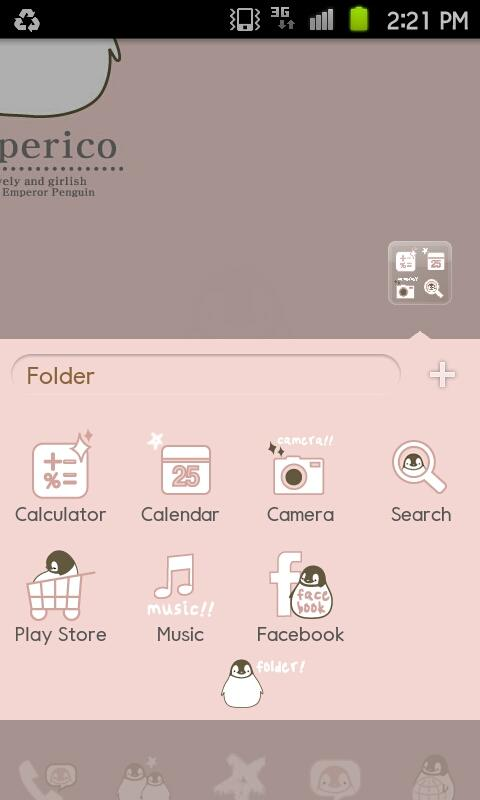 Peperico GO Launcher theme EX - screenshot