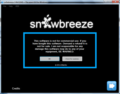 Download Sn0wbreeze 2.8b8 To Jailbreak iOS 5