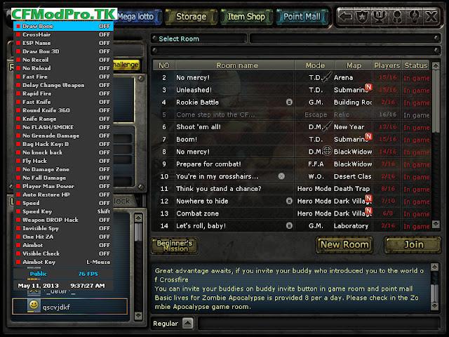 CF VIP HACK Cfmodpro