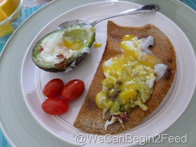 Apr 14 Avocado egg and Flax toast 011