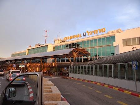 Aeroportul Tel Aviv - Israel