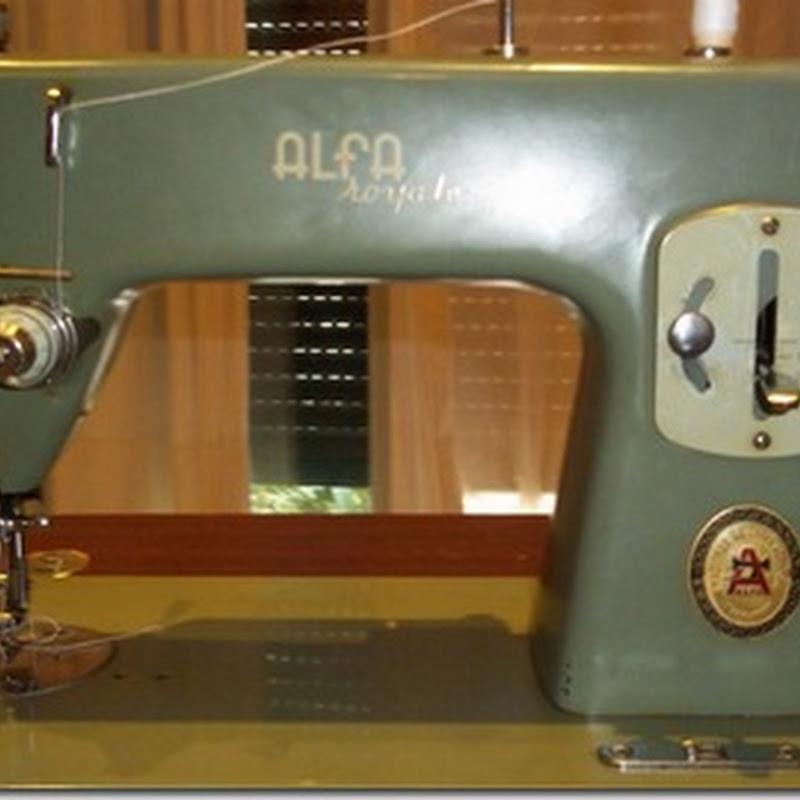Alfa Royale, como enhebrar esta máquina de coser