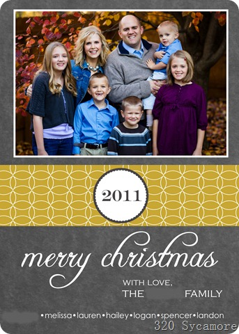 2011 christmas card blog