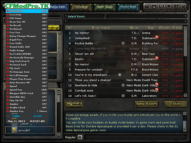 CF Cheat Pro - CFpro - CF pro - CF pro biz - CFprobiz - Cheat, hack crossfire
