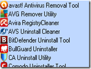 AV Uninstall Tools Pack disinstallare più di 40 programmi per la sicurezza dal PC Windows