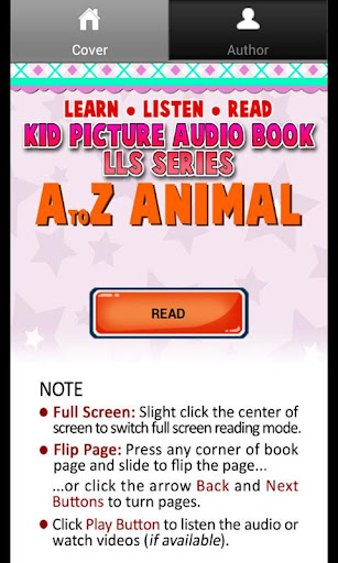 Kid Animal Picture Audio Book