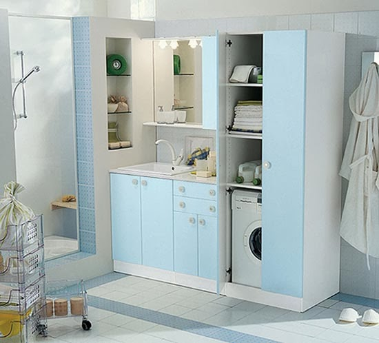 Laundry room ideas casual cottage - Best laundry room colors ...