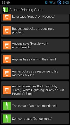 【免費休閒App】Archer Drinking Game-APP點子