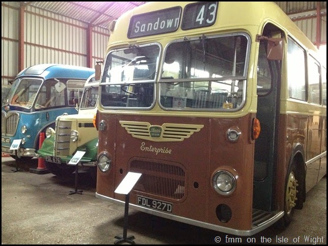 Vintage Buses at Isle of Wight Bus Museum