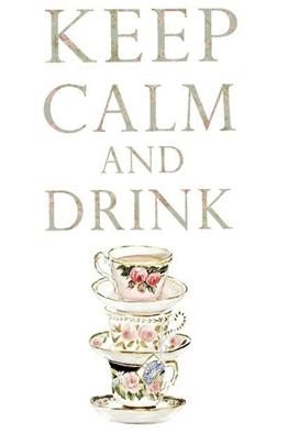 Keep Calm Tea Cup | Lavender & Twill