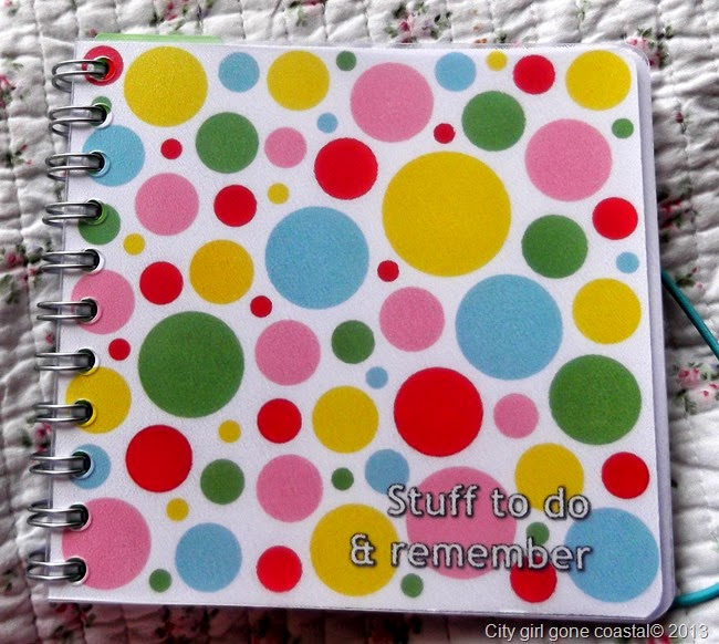 personal planner front cover, diary