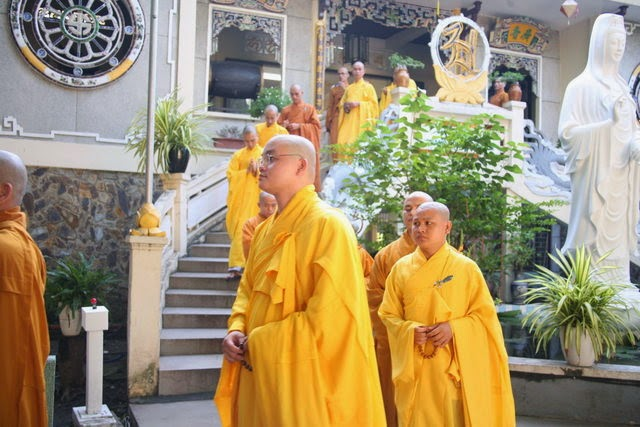 IMG 1688 Đại lễ Phật đản PL 2557 tại Tu viện Quảng Hương Già Lam
