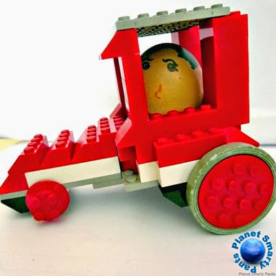 Lego Egg Racer from Planet Smarty Pants