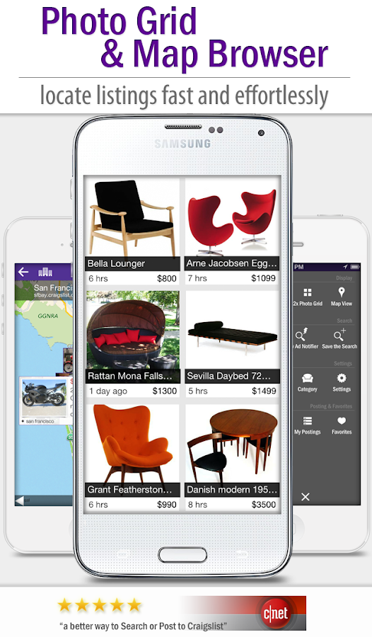 cPro+ Craigslist Mobile Client- screenshot