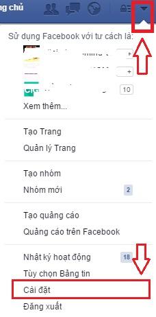 Cách tắt thông báo của Facebook trên trình duyệt