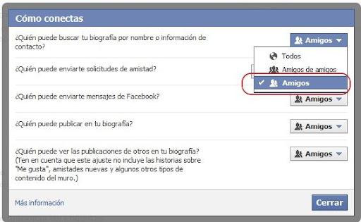 ocultar tu perfil en Facebook de todo el mundo img 2