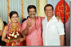 Balachandra Menon daughter Bhavana marriage photo