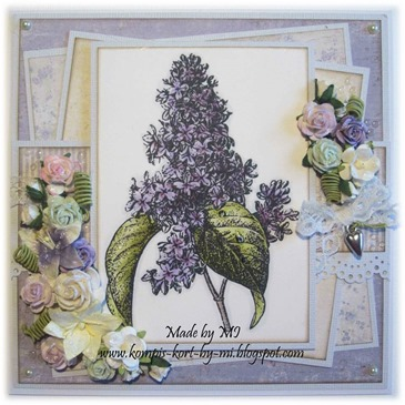 Marie - lovely lilacs and lemons