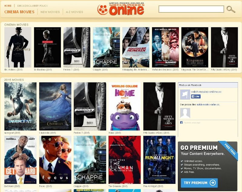 Watch a movie on the web