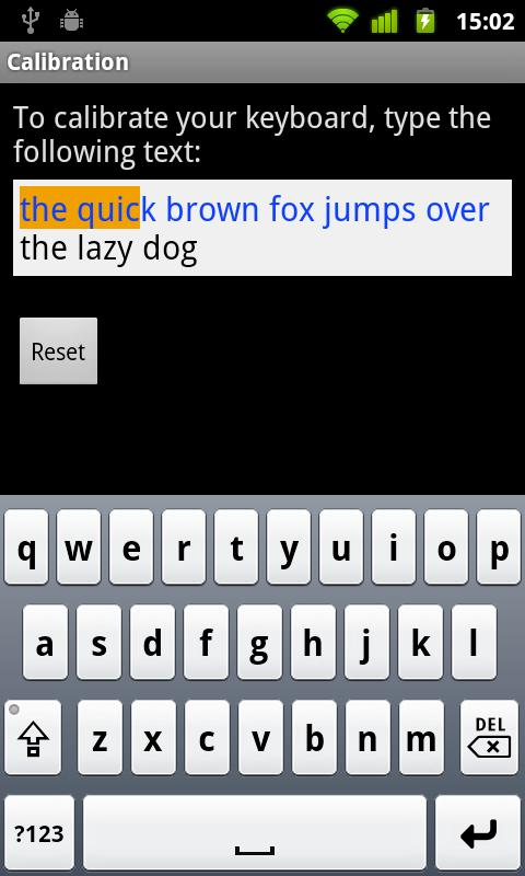 German for Smart Keyboard - screenshot