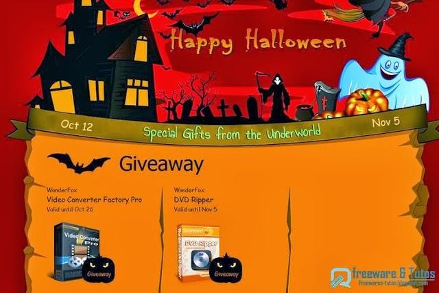 Offre promotionnelle (spécial Halloween) : WonderFox DVD Ripper gratuit !