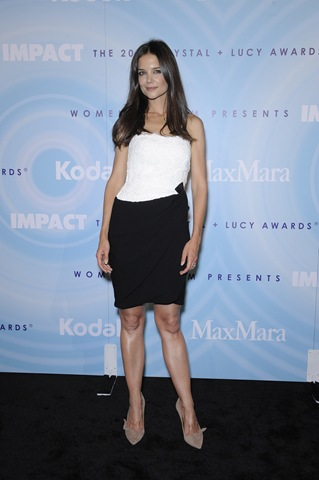 Katie Holmes Crystal Lucy Awards