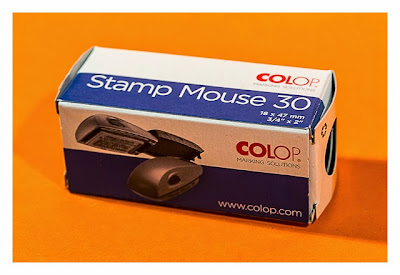 Geocaching-Stempel-Test: Stamp Mouse von Colop - Verpackung