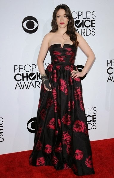 Kat Dennings People s Choice Awards 2014