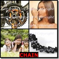 CHAIN- 4 Pics 1 Word Answers 3 Letters