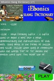 iEbonics & Slang Dictionary- screenshot thumbnail