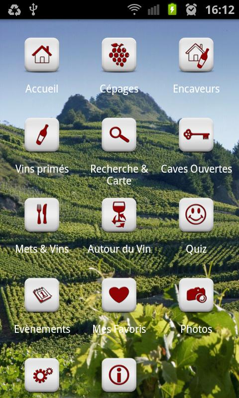 Les Vins du Valais- screenshot