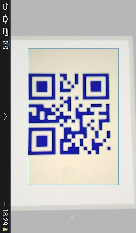 QR BARCODE SCANNER- screenshot