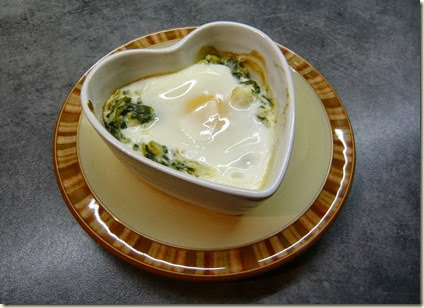baked eggs with haddock and spinach5