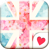 Cute wallpaper★British Flower