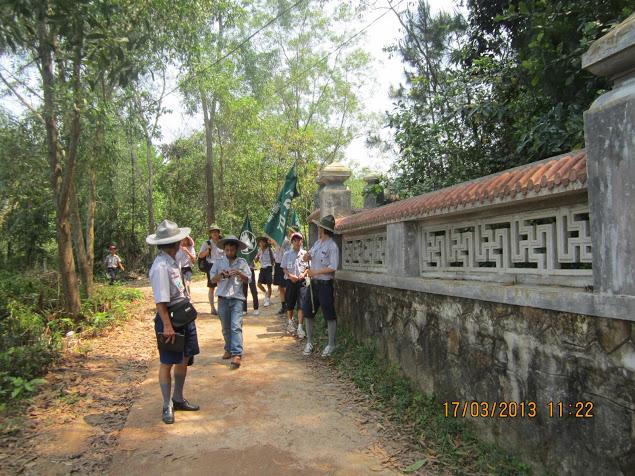 TraiDungThuaThioem2013 12 BHD GĐPT Thừa Thiên tổ chức Trại Dũng năm 2013