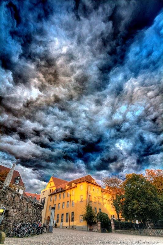 Sky over Freiburg wacky 2
