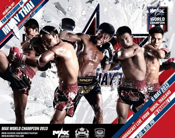 Max Muay Thai 2013
