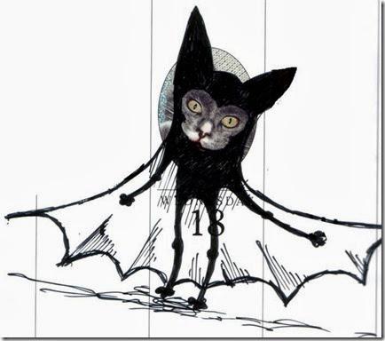 dibujando sobre el gato (1)