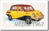 MEERA MINI CAR 1967 MODELLO DEFINTIVO