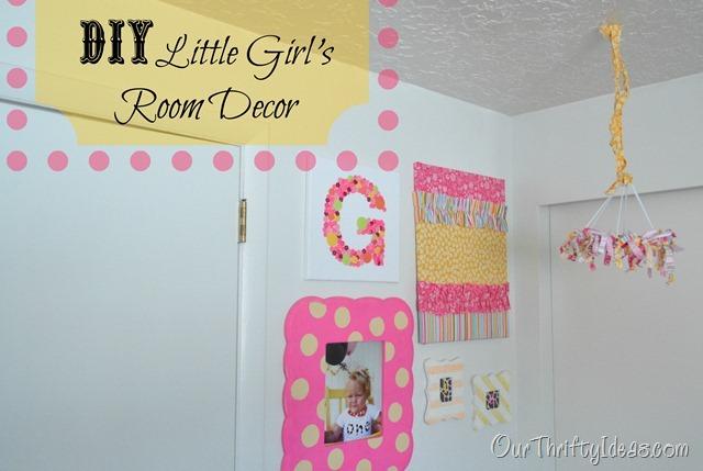 Our Thrifty Ideas Diy Little S Room Decor