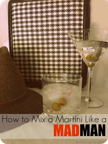 martinis and fedora edit