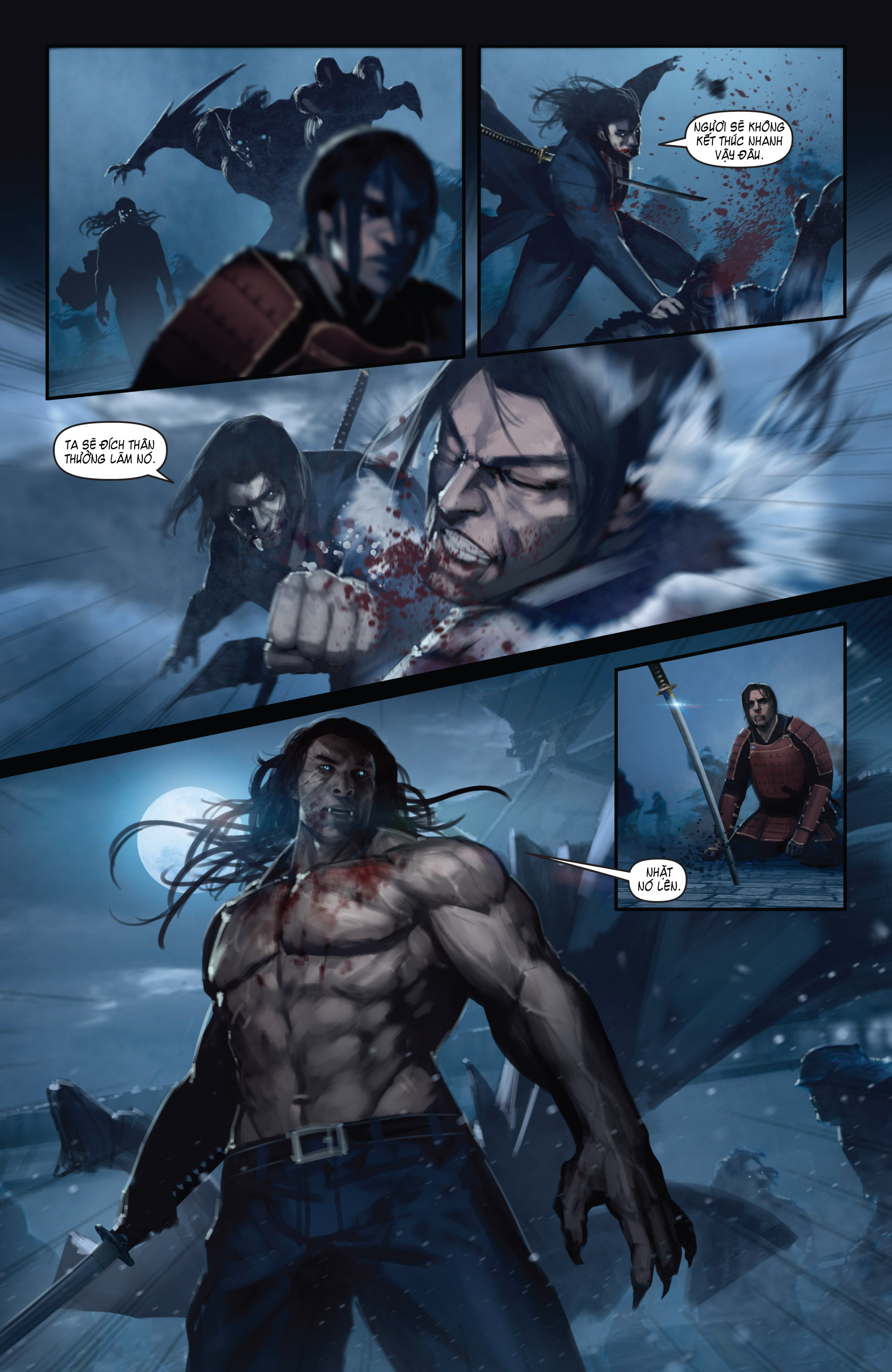 BUSHIDO - THE WAY OF THE WARRIOR chapter 5 - end trang 18