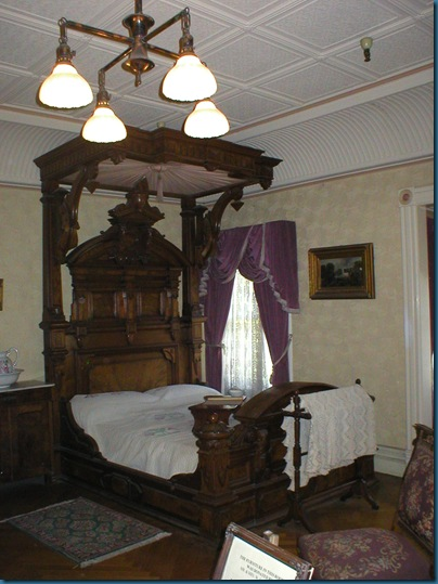 Sarah Winchester's Bed