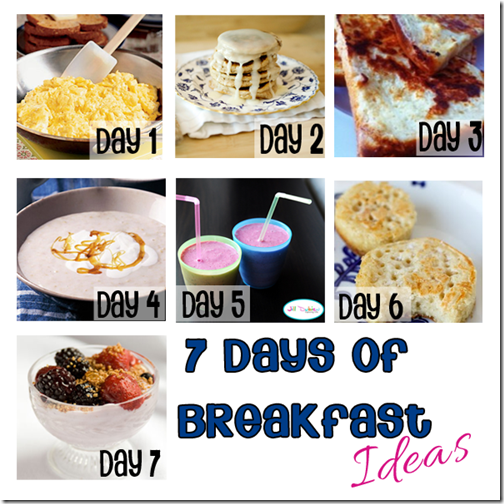 7 Breakfast Ideas for Kids #recipes #backtoschool