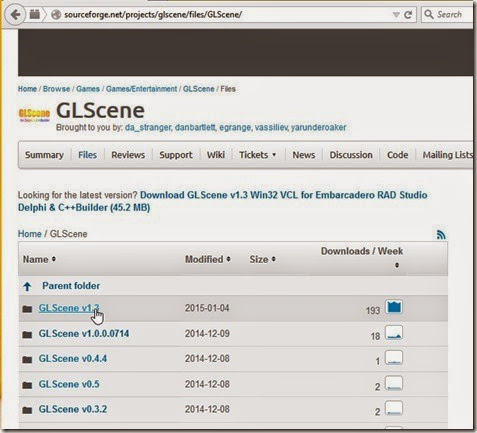 GLScene available versions